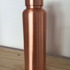 "COPPER WATER BOTTLE ""Plain"""